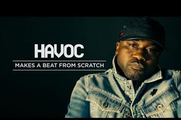Havoc Makes A Beat From Scratch At HNHH Studio