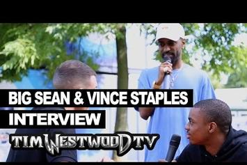 Big Sean Crashes Vince Staples Interview With Tim Westwood