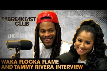 Waka Flocka & Tammy Rivera On The Breakfast Club