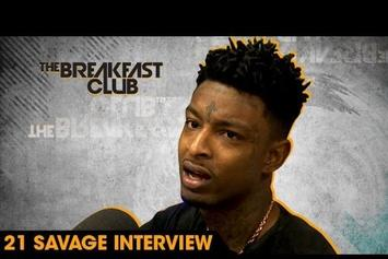21 Savage On The Breakfast Club