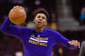 Gilbert Arenas Tried To Put Nick Young On Blast On Snapchat For Talking To Iggy Azalea