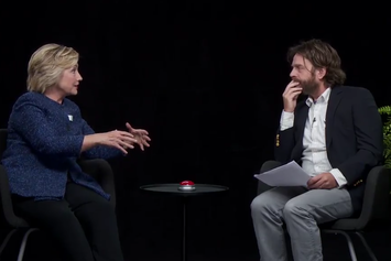 Watch Hillary Clinton's Hilarious Interview With Zach Galifianakis