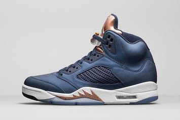 """Bronze"" Air Jordan 5 Goes Up Against The Yeezy Boost This Weekend"