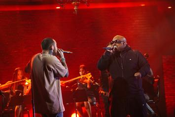 """Mac Miller & Cee-Lo Green Perform """"We"""" On """"The Divine Feminine"""" Concert Special"""
