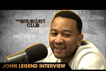 John Legend Speaks On Stop & Frisk Law And Presidential Debate With The Breakfast Club