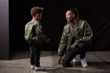 """Wiz Khalifa Launches """"BASH"""" Clothing Line Inspired By His Son"""