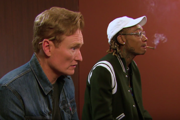 "Watch Wiz Khalifa Battle Conan O'Brien In ""Gears Of War 4"""