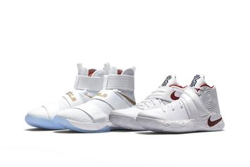 """Nike Releasing Kyrie x LeBron """"Game 6"""" Championship Pack Today"""