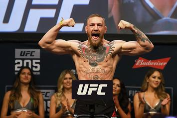 Conor McGregor Grabs The Mic At NYC Club, Challenges Floyd Mayweather