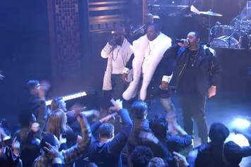 """The Roots, Joell Ortiz & Busta Rhymes Perform """"My Shot"""" On Jimmy Fallon"""
