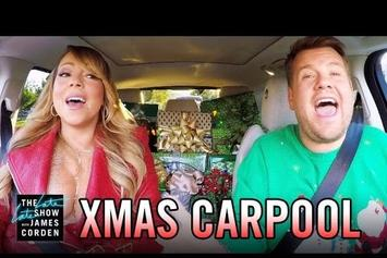 An Ample-Chested Mariah Carey Leads Off Star-Studded Carpool Karaoke