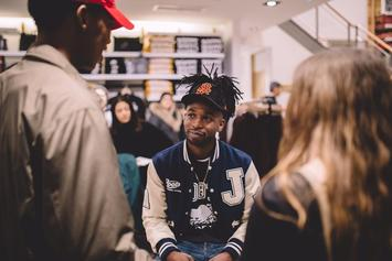 "Jazz Cartier Announces New Project ""Fleurever"""
