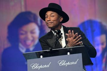 "Pharrell Performs ""Runnin'"" On The Ellen Show"