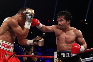 Manny Pacquiao Is Getting Back In The Ring In 2017