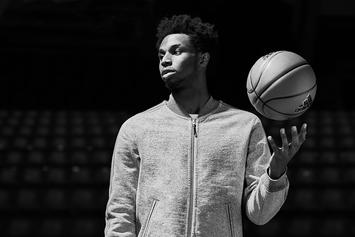 """Andrew Wiggins Models Adidas x Reigning Champ """"Made In Canada"""" Collection"""