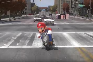 "Watch A Hilarious Mash-Up Of ""Super Mario Odyssey"" And ""Grand Theft Auto"""