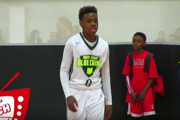 Watch LeBron James' 12-Year Old Son Dominate MLK Tournament