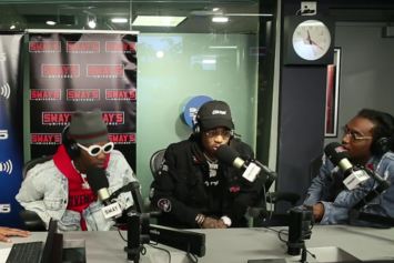 "Migos Freestyle Live On ""Sway In The Morning"""