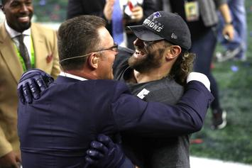 Watch Chris Long Celebrate Emotional Super Bowl Victory With His Father