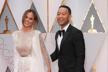 Twitter Caught Chrissy Teigen Sleeping During The Oscars