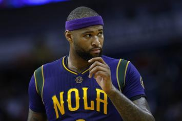 """DeMarcus Cousins Calls Out Another Heckler: """"Sit Your Fat Ass Down!"""""""