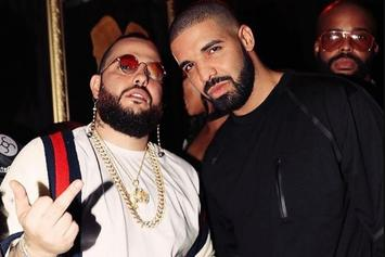 Drake, French Montana & A Giant Blunt Were All Present For Belly's Birthday