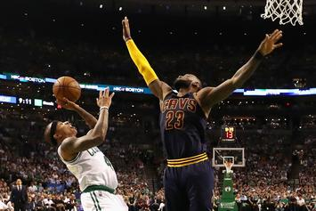 #NBATwitter Reacts To Cavs vs Celtics Eastern Conference Finals Game 1