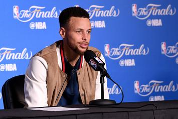 """Steph Curry Says He Didn't Pretend To Sh*t On The Cavs: """"No Randy Moss"""""""