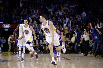 Klay Thompson Signs Massive 10-Year Extension With Sneaker Brand