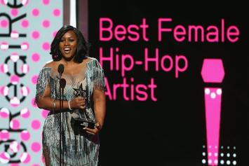 Remy Ma Spits Freestyle Bars During Essence Fest Performance