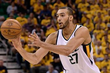 Did Rudy Gobert Diss Gordon Hayward With Chris Brown Song Lyrics?