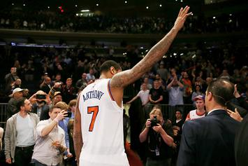 """Carmelo Anthony Reportedly """"Confident"""" He'll Be Traded To Houston"""