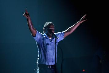 """Kendrick Lamar Gets Crowd Super Hyped During Performance Of """"HUMBLE."""""""