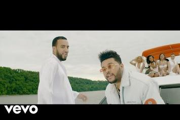 "French Montana Feat. The Weeknd, Max B ""A Lie"" Video"