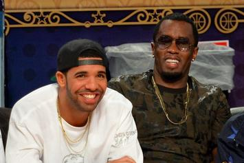 Diddy Congratulates Drake On His Virginia Black Whiskey Venture