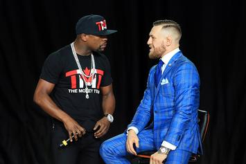 """Floyd Mayweather vs Conor McGregor """"All Access"""" To Premiere Tonight"""