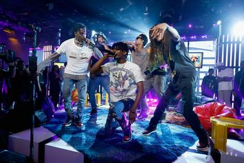 """A$AP Mob Performs """"Feels So Good"""" On Tonight Show"""
