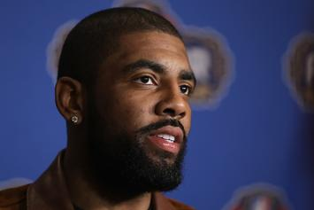 Kyrie Irving Shaves Off His Beard; Gets Roasted For Having Baby Face