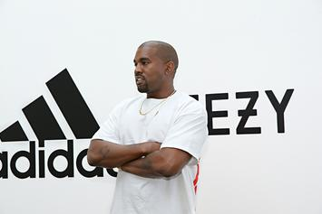 Kanye West Spotted In New Adidas Yeezy Calabasas Powerphase Colorway