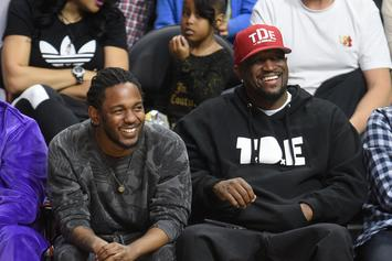 "Kendrick Lamar On GKMC: ""We Did Good Kid About Three, Four Times"""