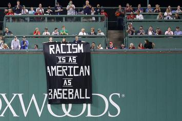 "Fenway Park Security Remove Controversial ""Racism"" Banner, Fans Behind It"