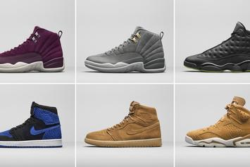 Jordan Brand Reveals 2017 Holiday Collection