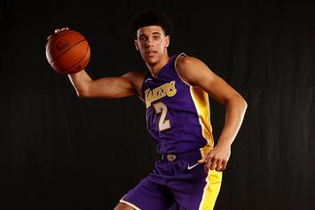 Lonzo Ball Shows Off Windmill Dunk + Hilarious Dance Moves