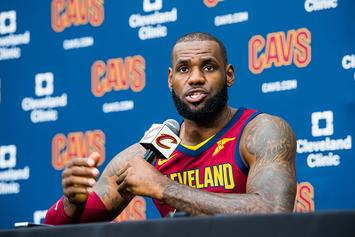 "LeBron James Explains His ""U Bum"" Tweet"
