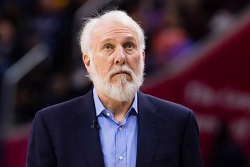 "Spurs' Gregg Popovich: ""Our Country Is An Embarrassment To The World"""