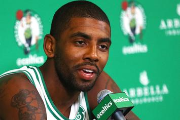 "Kyrie Irving Explains His ""Flat Earth"" Theory"