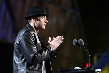 """Eminem Is Donating His """"Lose Yourself"""" Lawsuit Winnings To Hurricane Relief"""