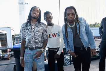 Migos Rappers Quavo & Offset Try, Fail To Punch A Guy Twice Their Size