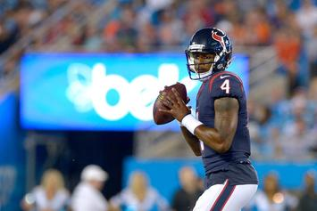 Deshaun Watson Receives Inspirational Text Message From Odell Beckham Jr.