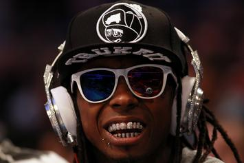 Lil Wayne Shares Rum-Tastic Studio Session Picture With Fans